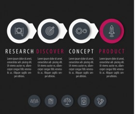 Business Infographic creative design 4599