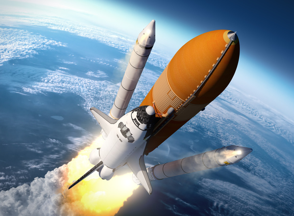 space shuttle booster separation - photo #22