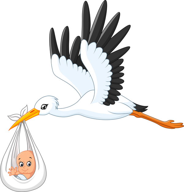 stork vector for free download rh freedesignfile com stork victoria sandwich stock vector images