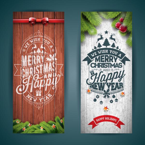 Christmas vertical banner creative design 05