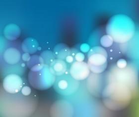 Circles blurs background blue vector