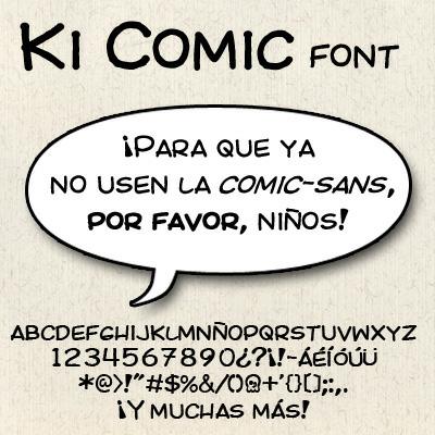 Comic Font Pack