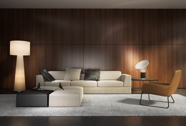 contemporary modern wall system living room stock photo 05 free download