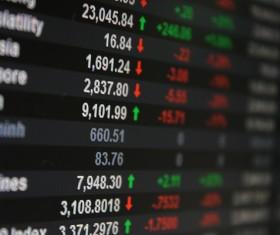 Financial Exchange Quotes Stock Photo 01