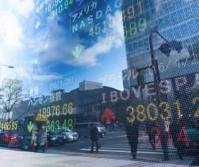Financial Exchange Quotes Stock Photo 02