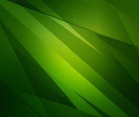 Green abstract crystal background Stock Photo