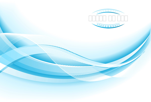 Light Blue Wavy Abstract Background Vector 08 Free Download