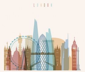 London building vector illustration