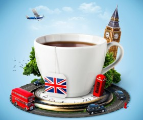London traveling concept Stock Photo 01