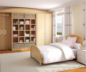Multifunctional cabinets with comfortable beds