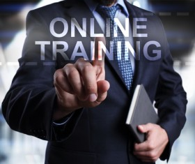 Online Training Concepts Stock Photo 02