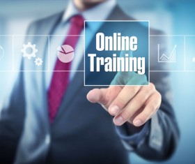 Online Training Concepts Stock Photo 04