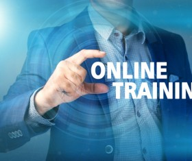 Online Training Concepts Stock Photo 05