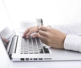 Online shopping for men Stock Photo 02