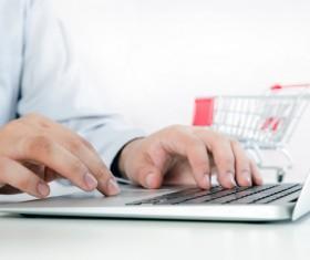 Online shopping for men Stock Photo 03