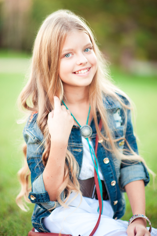 Pretty Blonde Little Girl 02 Kids Stock Photo Free Download