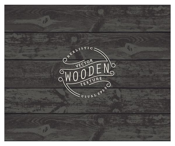 Retro wooden texture vector backgrounds 03