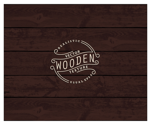 Retro wooden texture vector backgrounds 07