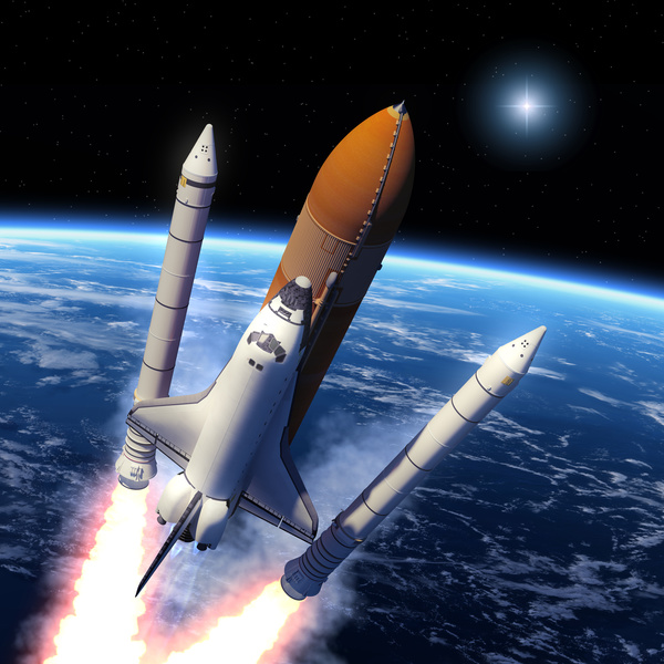 separation space shuttle - photo #1