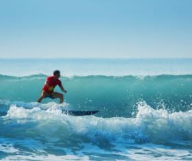 Sea surfer HD picture
