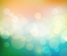 Shiny light cricles with abstract vector background