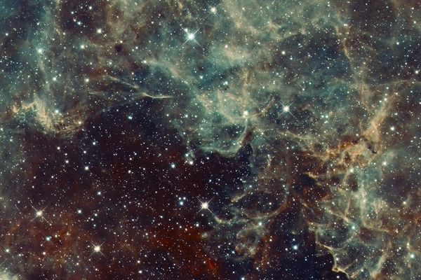 The ever changing space nebula background HD picture 04