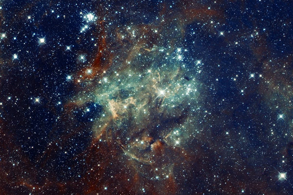 The ever changing space nebula background HD picture 10