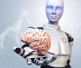The human brain in the hands of robots