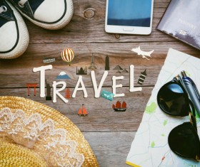 Travel Concepts on the desktop HD picture