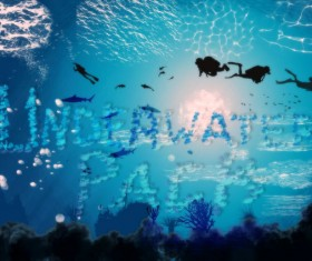 UnderWater PS Brushes Pack