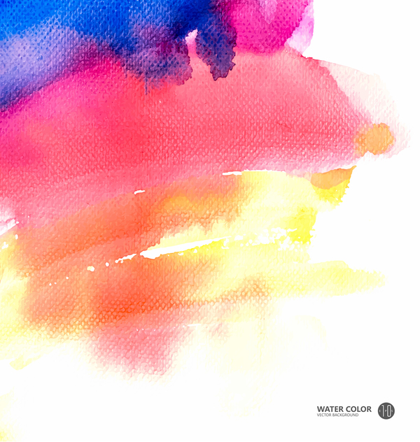 water color paint vector background 01 free download