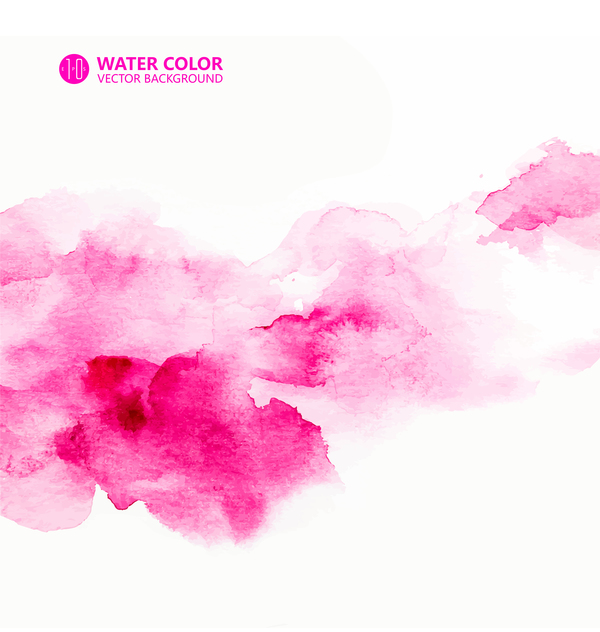water color paint vector background 05 free download