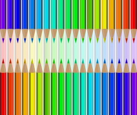 Welcome back to school backgrouns with colored pencils vector 08