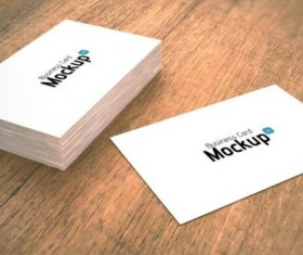 White Styles Business Card PSD Template