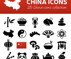 25 kind china icons