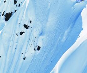 Alpine limit skiing Stock Photo