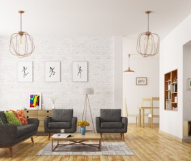 Apartment design renderings HD picture 10