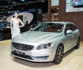 Beauty car models Stock Photo
