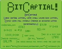 Bit Capital fonts