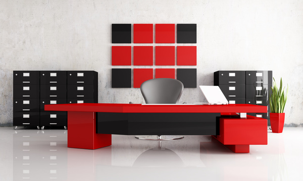 Attractive Black And Red With Office HD Picture