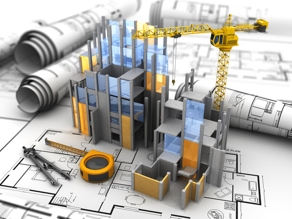 Building models and drawings HD picture free download