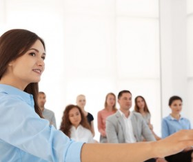 Business trainer Stock Photo 04