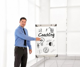 Business trainer Stock Photo 06