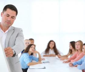 Business trainer Stock Photo 11