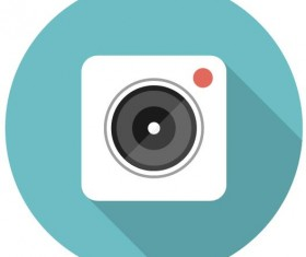 Camera retro icon