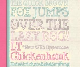 Chicken hawk Font