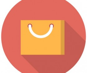 Circles bag icon