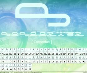 Cocoonian font