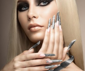Cold nail beauty HD picture