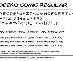 Comic Book Style font